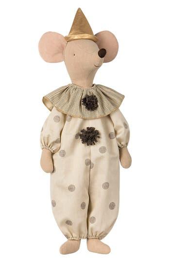 Infant Maileg Circus Clown Maxi Mouse Stuffed Animal