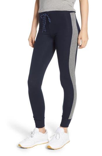 Colorblock Skinny Sweatpants