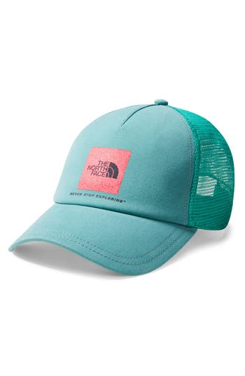 THE NORTH FACE LOW PRO TRUCKER HAT - GREEN