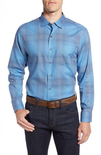 Men's Tommy Bahama Pocora Plaid Sport Shirt