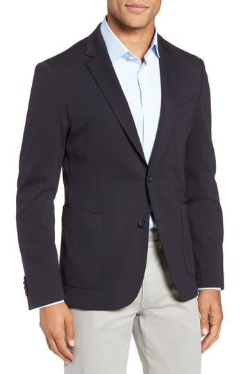 BOSS Nold Trim Fit Stretch Wool Blend Sport Coat