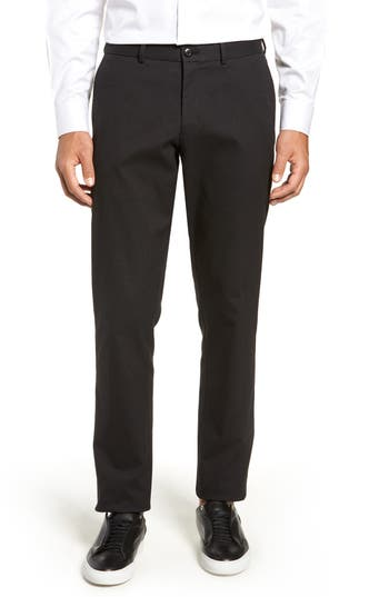 Nordstrom Men's Shop Slim Fit Herringbone Stretch Chinos