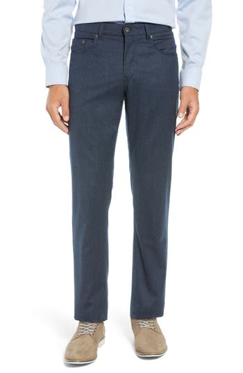 Brax Enrico Five-Pocket Stretch Wool Trousers