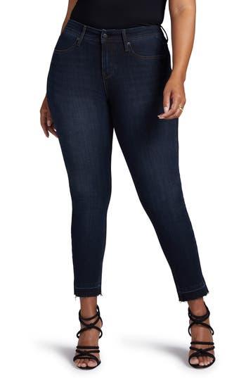 Curves 360 by NYDJ Boost Release Hem Skinny Jeans