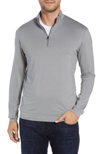 johnnie-O Flex Classic Fit Quarter Zip Pullover
