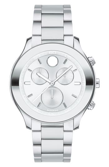 Movado Bold Chronograph Bracelet Watch, 39mm