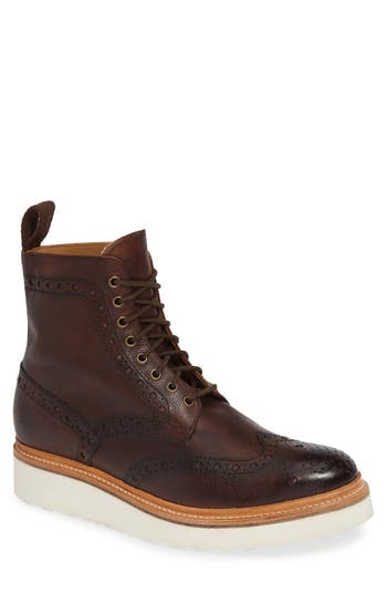 Grenson Fred V Wingtip Boot