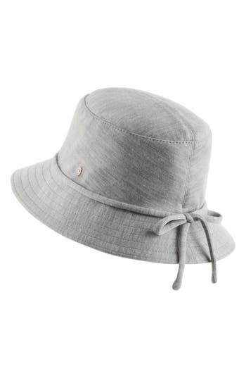 CLASSIC WOOL BUCKET HAT - GREY