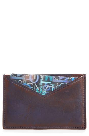 CALVIN KLEIN 205W39NYC Leather Card Case