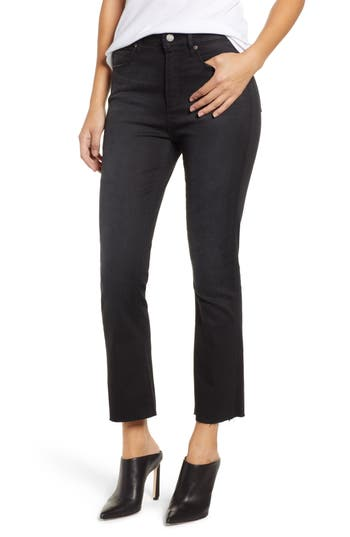 Leith High Rise Crop Flare Jeans