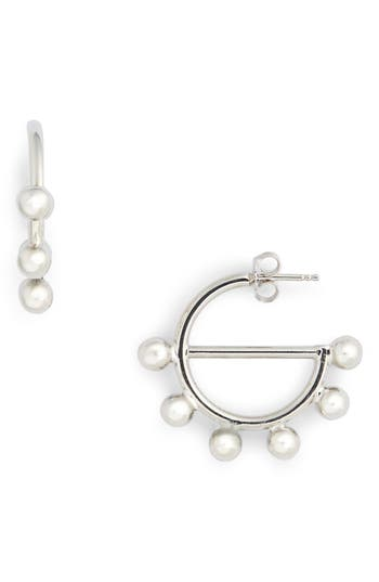 JW Anderson Mini Disc Hoop Earrings