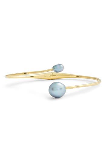 gorjana Vienna Freshwater Pearl Cuff Bracelet