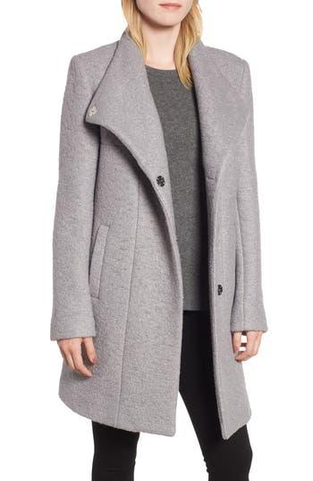 Kenneth Cole New York Pressed Bouclé Coat