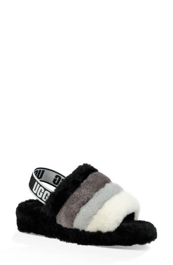 UGG® Fluff Yeah Genuine Shearling Slide Slipper