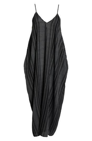 Plus Size Women's Elan Cover-Up Maxi Dress, Size 1X - Black