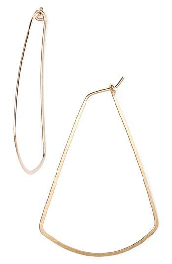 Women's Nashelle Ija Triangle Hoop Earrings