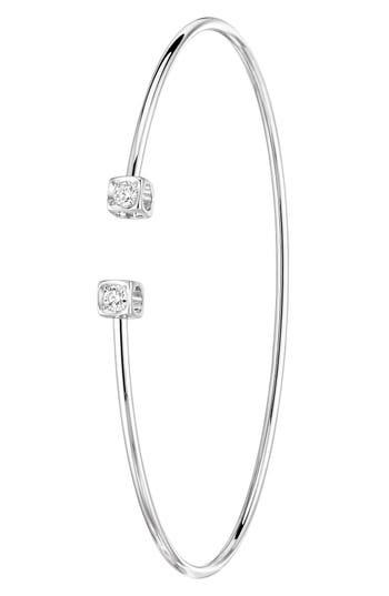Dinh Van Le Cube Diamant Small 18K Gold Flex Bracelet