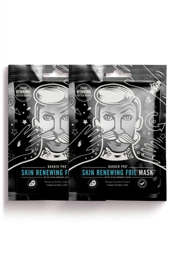 Barber Pro Skin Renewing Foil Mask Duo