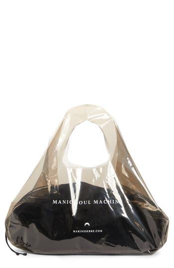 Marine Serre Transparent Shopping Bag
