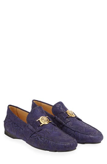 Versace First Line Driving Shoe