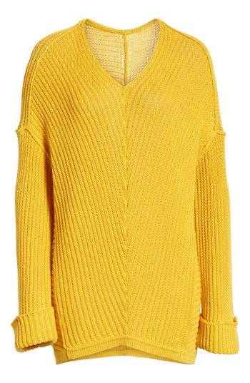Caslon® Cuffed Sleeve Sweater
