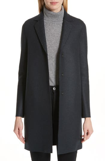 Harris Wharf London Classic Cocoon Coat