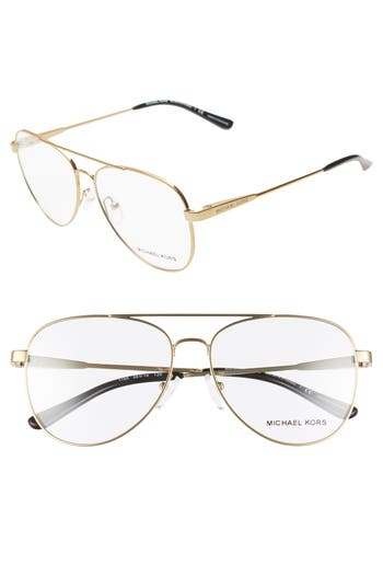 Michael Kors 56mm Aviator Optical Glasses