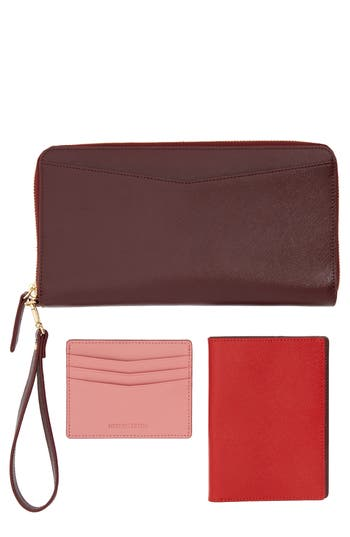 Nordstrom Leather Travel Organizer