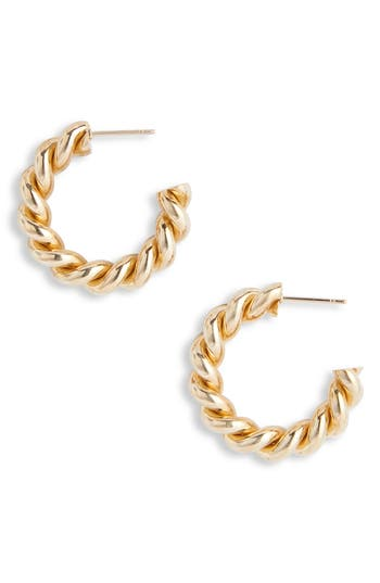 Laura Lombardi Mella Hoop Earrings