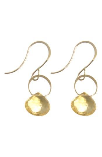 Melissa Joy Manning Citrine Drop Earrings