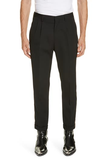 CALVIN KLEIN 205W39NYC Side Stripe Wool Pants