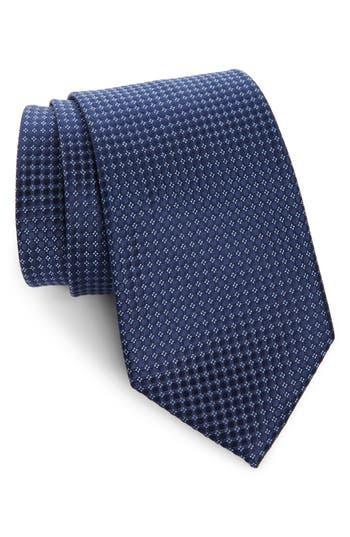 Nordstrom Men's Shop Alana Geometric Silk X-Long Tie