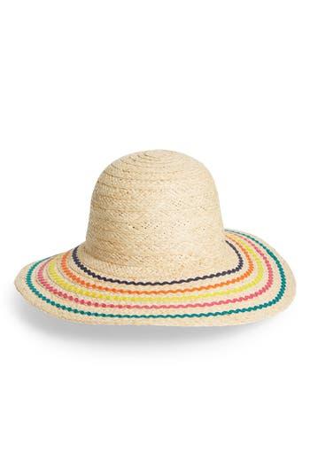 San Diego Hat Raffia Rickrack Hat