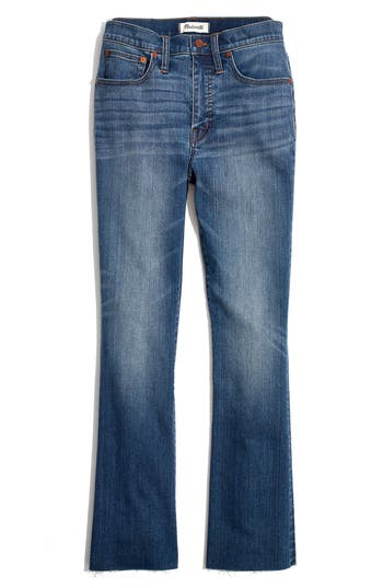 Madewell Cali Back Seam Demi Boot Jeans