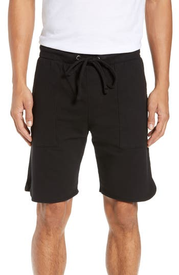 Goodlife Slim Fit Scallop Micro Terry Shorts