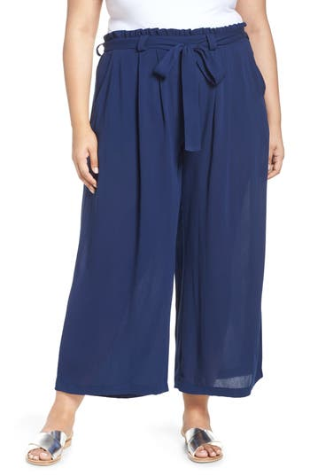 Gibson x Hi Sugarplum! Sedona Wide Leg Ankle Pants