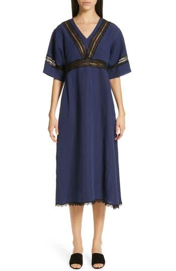 Sofie D'Hoore V Neck Linen Dress