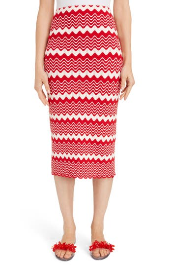 Simone Rocha Wiggle Rib Tube Skirt