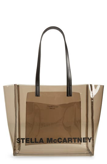 Stella McCartney Clear Logo Tote