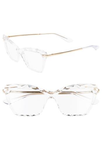 Dolce&Gabbana 53mm Cat Eye Optical Glasses