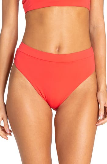 Billabong Sol Searcher High Waist Bikini Bottoms
