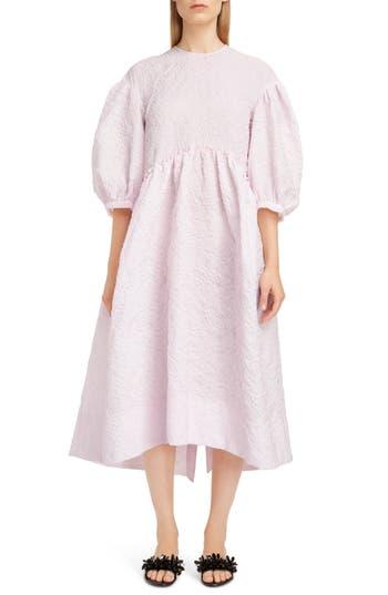 Simone Rocha Floral Cloqué Dress