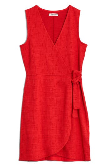 Madewell Texture & Thread Side Tie Minidress