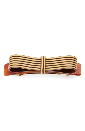France Luxe Layered Bow Barrette