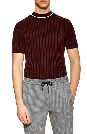 Topman Short Sleeve Sweater