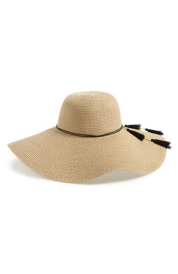 Shiraleah Hermosa Floppy Brim Straw Hat