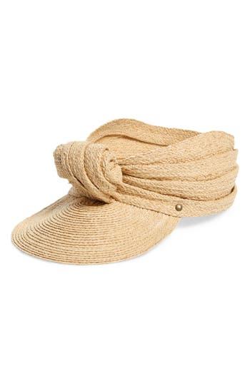Lola Hats Diva Knotted Raffia Cap
