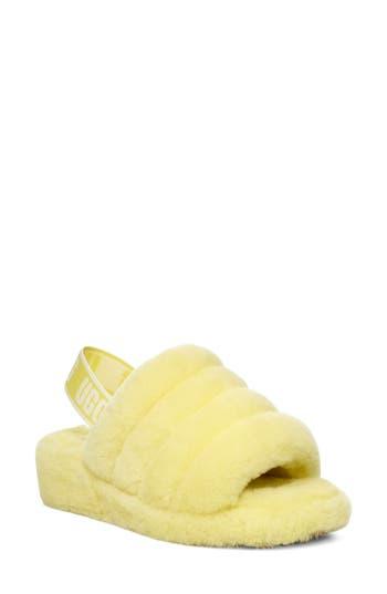UGG® Fluff Yeah Genuine Shearling Slipper (Women)