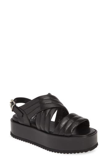 AGL Quilted Band Sport Sandal (Women)