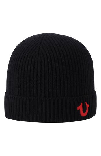 True Religion Brand Jeans Rib Knit Cap -